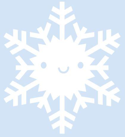Kawaii Snowflake Sticker