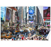 Times Square In Minature Poster
