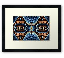 Geometric Patterns No. 49 Framed Print