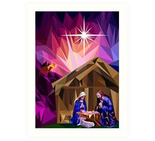 This Holy Night Art Print
