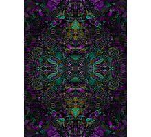 Purple And Jade Photographic Print