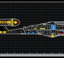 NX-01 Enterprise Systems Overview Sticker