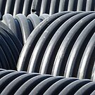 Pipes Abstract by Graham Geldard
