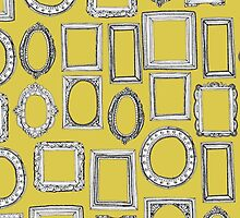 picture frames yellow by Sharon Turner