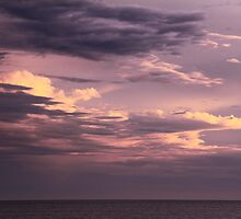 Clearing Storm Clouds over the Atlantic by Roupen  Baker