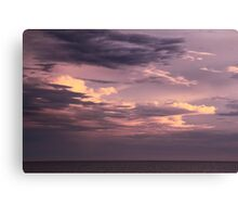 Clearing Storm Clouds over the Atlantic Canvas Print