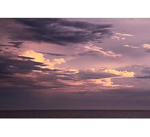 Clearing Storm Clouds over the Atlantic Photographic Print