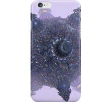 Purple fractal Starship iPhone Case/Skin