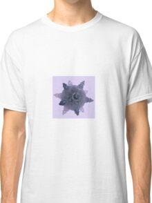 Purple fractal Starship Classic T-Shirt
