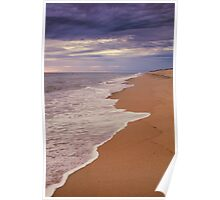 Dark and Stormy Sky Seascape Poster
