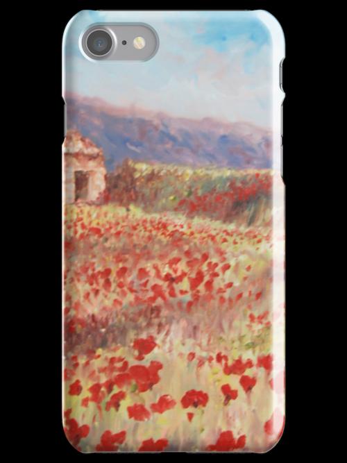 Zoe Webster's Poppy iPhone Case  by arrowella