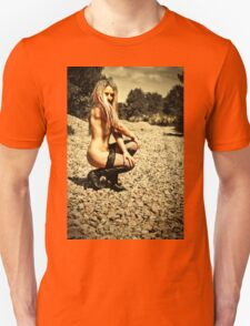 Nude Outdoors by Aquinas Unisex T-Shirt