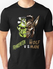 Frankenstein vs the Wolfman T-Shirt