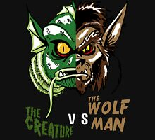 Creature vs Wolfman Zipped Hoodie
