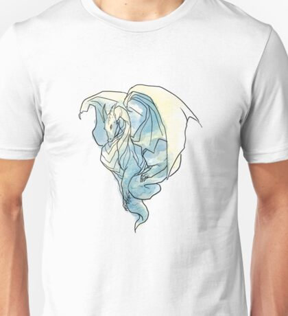 Curled Dragon Unisex T-Shirt