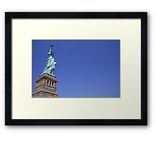 Statue of Liberty.. Framed Print