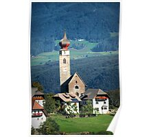 South Tyrolean Church Poster