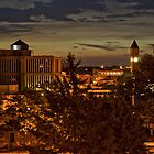 Dawn over Sioux Falls in HDR by Scott Hendricks