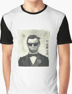 Baberaham Lincoln Graphic T-Shirt