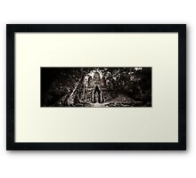 Angkor Thom West Gate Framed Print