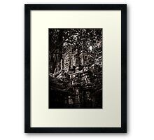 Face of the ruin, Ta Som, Angkor Framed Print