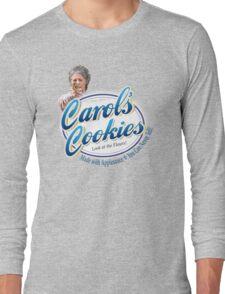 Famous Carol's Cookies Logo Long Sleeve T-Shirt