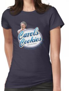 Famous Carol's Cookies Logo Womens Fitted T-Shirt