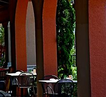 Lunch Under The Arches by phil decocco