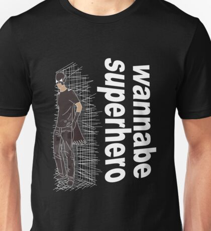 wannabe superhero 2 Unisex T-Shirt