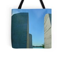 Visiting Martin Luther King Tote Bag