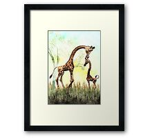 Olympia's Early Morning Wash Framed Print
