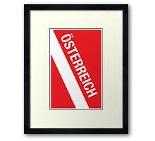 Österreich Framed Print