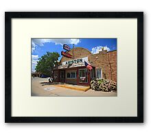 Route 66 - Ariston Cafe Framed Print