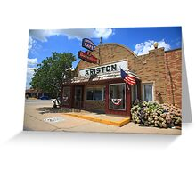 Route 66 - Ariston Cafe Greeting Card