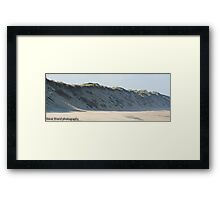norfolk dunes Framed Print