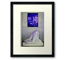 Weeping Angel Framed Print