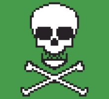 8 Bit Skull by chilipenguin