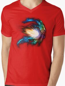 Collide Mens V-Neck T-Shirt