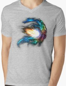 Collide Mens V-Neck T-Shirt