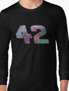 The answer to life, the universe and everything. Long Sleeve T-Shirt