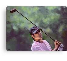 Seve Ballesteros painting Canvas Print