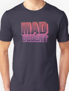 Mad Decent - Pink & white T-Shirt