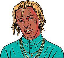 Young Thug Art Photographic Print