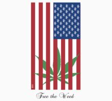 America - free the weed by mouseman