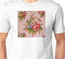 Country Cottage Flowers Unisex T-Shirt