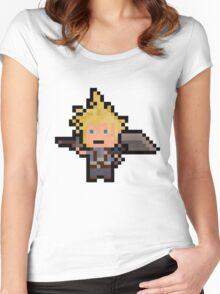 Pixel Cloud Women's Fitted Scoop T-Shirt