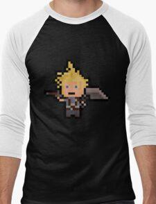 Pixel Cloud Men's Baseball ¾ T-Shirt