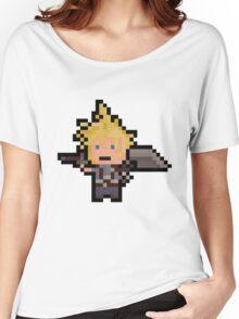 Pixel Cloud Women's Relaxed Fit T-Shirt