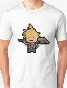 Pixel Cloud Unisex T-Shirt