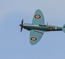 The Hanger 11 – Supermarine Spitfire MK XI PL 965 by Mark Hughes